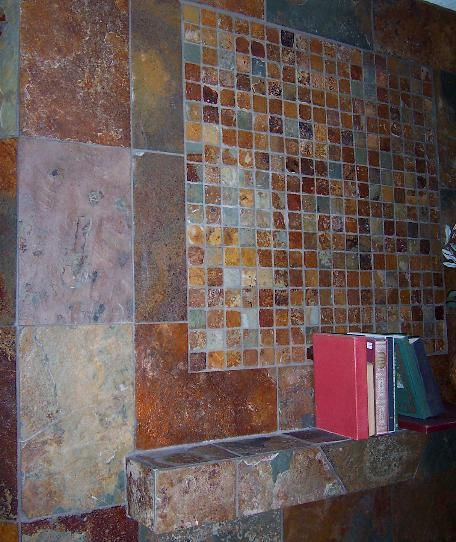 Slate Tile Patterns Copper Rust Cw Exteriors Pinterest And