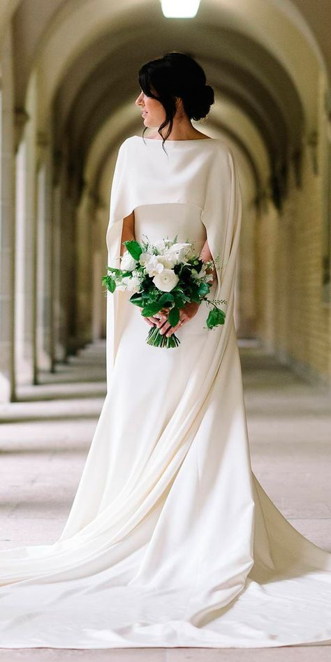 27 Awesome Simple Wedding Dresses For Cute Brides Wedding Dresses Guide Trendy Wedding Dresses Wedding Dresses Simple Wedding Dress Guide