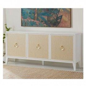 Costa Three Door Credenza Somerset Bay Sbt466 Furniture Home Furnishings Furnishings