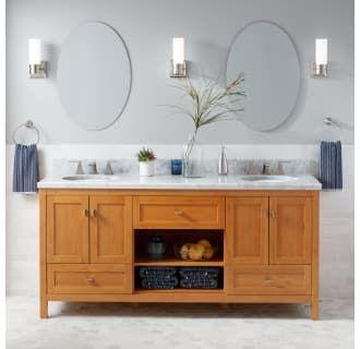 Signature Hardware 433574 Alcott 72 Double Build Com Double Sink Bathroom Vanity Bathroom Sink Vanity Bathroom Vanity