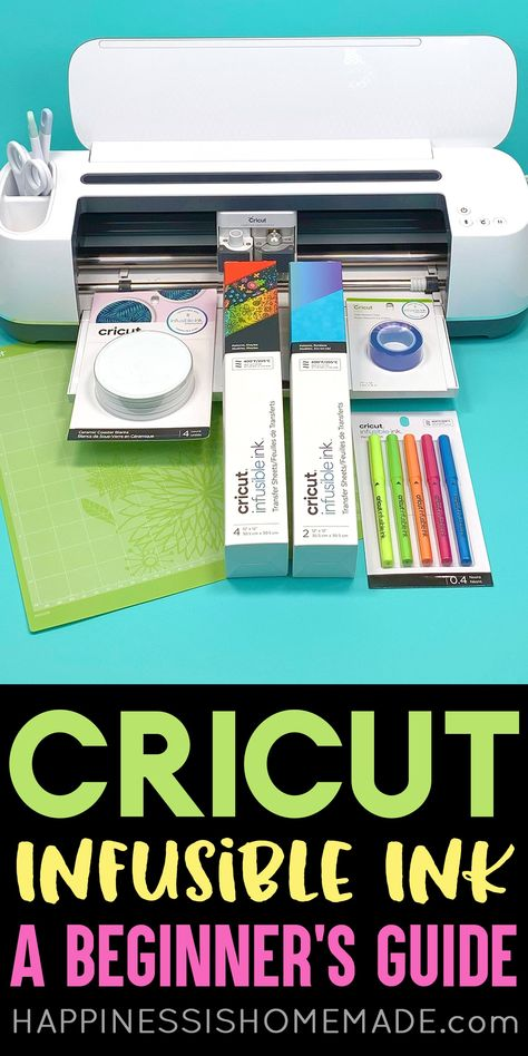 cricut crafts Cricut Infusible Ink Beginner's Guide: Everything you need to know about Cricut Infusible Ink! Learn how to make t-shirts and coasters and get the answers to Infusible Ink Cricut Air 2, Cricut Mat, Cricut Craft Room, How To Use Cricut, Cricut Help, Vinyle Cricut, Cricut Explore Projects, Cricut Project Ideas, Cricut Vinyl Projects
