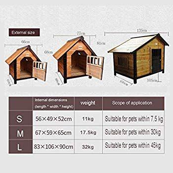 Zsh Gw Dog Houses Medium Large Dog Villa Golden Retriever Dog