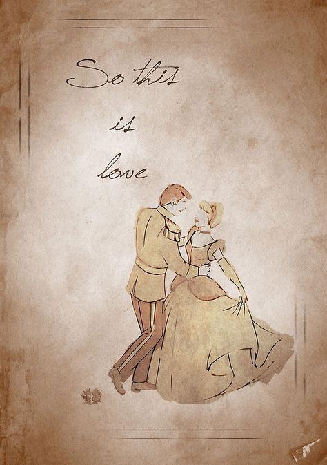 Cinderella inspired valentine. by topshelf