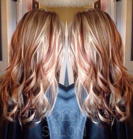 21 Trendy Hair Color Red And Blonde Red Blonde Hair Brown Hair Dye Winter Blonde Hair