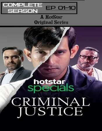 Criminal Justice 2019 Full Season 01 Download Hindi In HD | Criminal