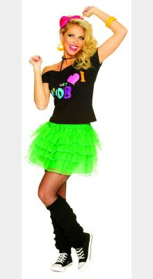 Costumes 80 S Style Petticoat