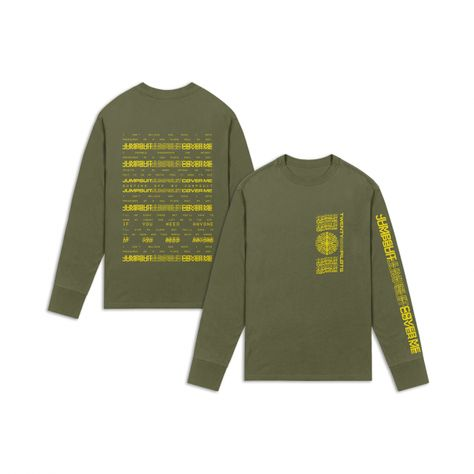 af767dfa2 Twenty One Pilots Repeat Logo Long-Sleeve T-Shirt Hot Topic Exclusive in  2019 | clothes | Twenty one pilots shirt, Twenty one pilots sweatshirt, ...