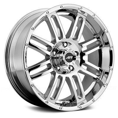 20x10 Chrome Black Wheel Xd Xd203 Chopstix 8x180 18