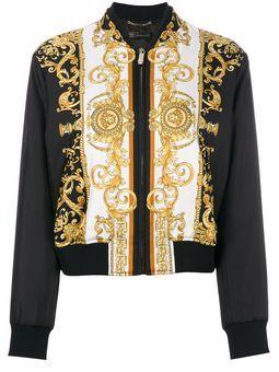 97a9e8791 Save the Medusa printed bomber jacket | Best Fashion Style Shop ...