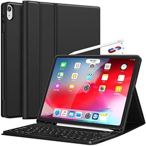 CHESONA Keyboard case - 3rd Gen iPad Pro 12.9 / 3rd Gen 12.9 - Black