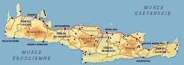 Znalezione Obrazy Dla Zapytania Mapa Krety Mapa