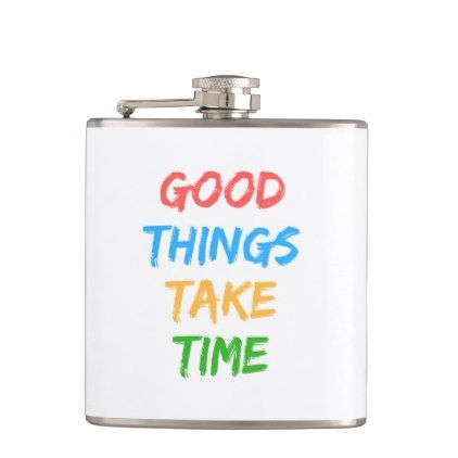 Colored Motivation Creative Hip Flask Typography Gifts Unique Custom Diy Flask Hip Flask Flask Quotes