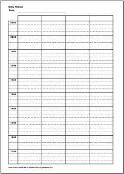 Daily Schedule Template 15 Minute Intervals Cortezcolorado With Regard To Daily Schedule Template 15 Daily Schedule Template Schedule Template Daily Schedule