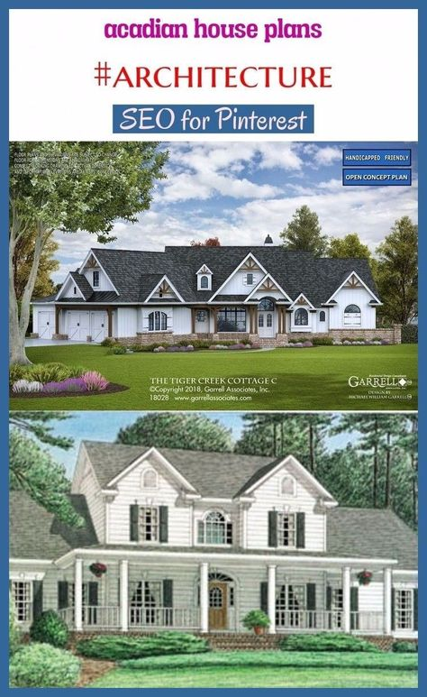 2000 Sq Ft House Plans Farmhouse In 2020 Acadian House Plans House Plans Cottage Style House Plans