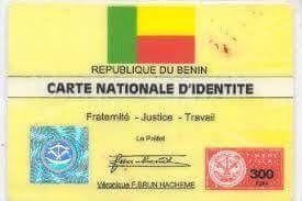 Carte Nationale D Identite Du Benin Carte Nationale