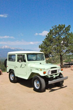 Buying Classic Chevy Trucks - Popular Vintage - 1970 Toyota Land Cruiser Spring Green Restoration You are in the right place about Jeeps - Toyota Prius, Toyota Corolla, Autos Toyota, Toyota Tundra, Toyota Tacoma, Auto Jeep, Jeep Suv, Jeep Truck, Chevy Impala