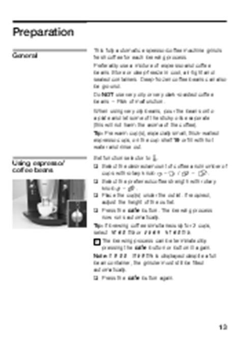 Service Manual Benvenuto B30 Bosch Tca6301uc Support Steam Boiler Steam Bosch