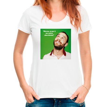 "camiseta de 'Ocho apellidos vascos' con la frase ""Miarma, yo por tí me vuelvo aberchándal"" en mitiendamediaset.es"