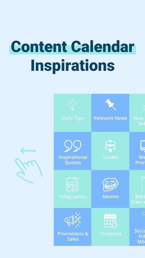 Content Calendar Inspirations