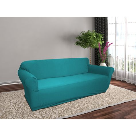 Stretch Jersey Slipcover Soft Form Fitting Furniture Couch Cover