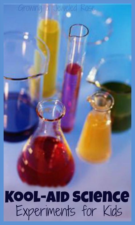 Fun kool-aid science for kids - color mixing, magic rainbows, eruptions, and more