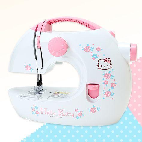 Hello Kitty x TOYOSK Sewing Machine Flower SANRIO JAPAN