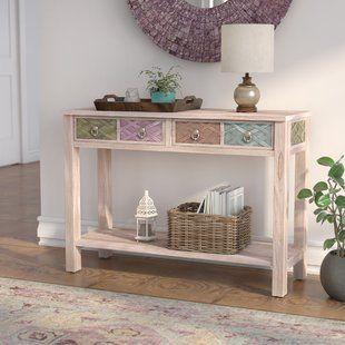 Fantastic Antique White Console Table Wayfair Furniture White Bralicious Painted Fabric Chair Ideas Braliciousco