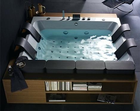 Newly Jacuzzi Bathtub For Two Photograph Indoor Hot Tub Luxury Bathtub Bathtub Design