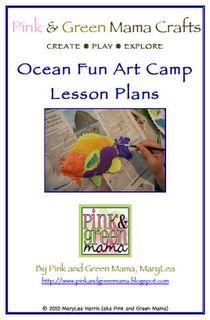 Elmer S Gel Glue Batik Aprons Camping Art Ocean Fun Art