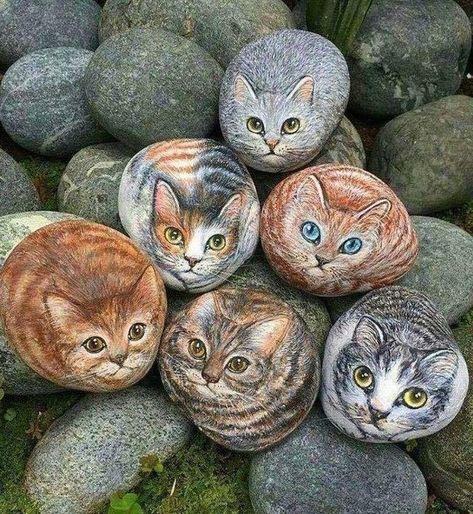 😍 😍 😍 ➡️ siga @greenmebrasil ****************#greenme #brasil #gato #cat #gatos #cats #pedra #stone #arte #art #animais #animals #beleza #beautiful #amor #love #picofday #picoftheday