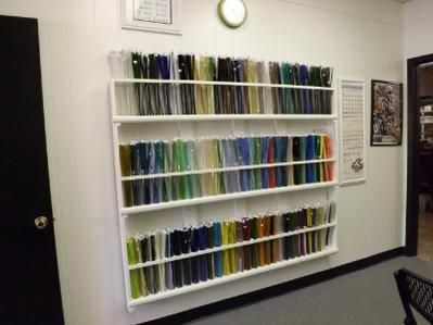 More Sheet Glass Storage! | Get Your Studio On | Pinterest | Storage, Glass  And Studio