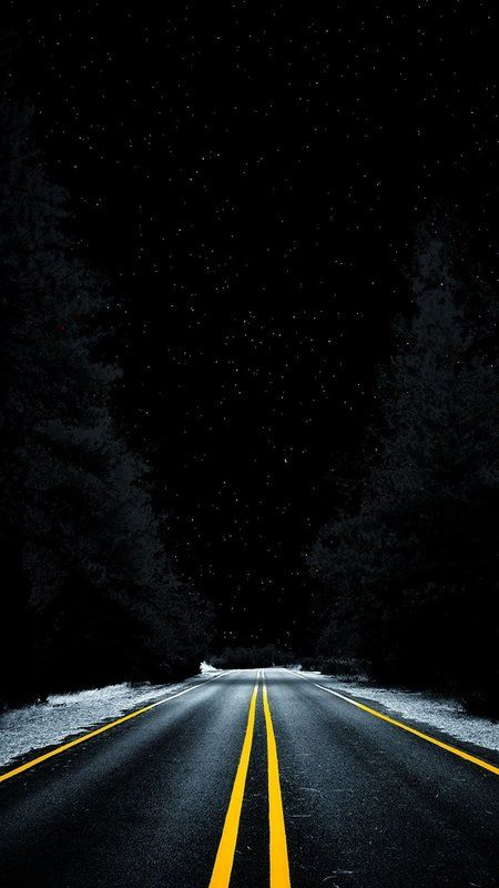 Road Into Space Wallpaper Mkbhd Wallpapers Iphone Wallpaper Night Black Wallpaper Iphone