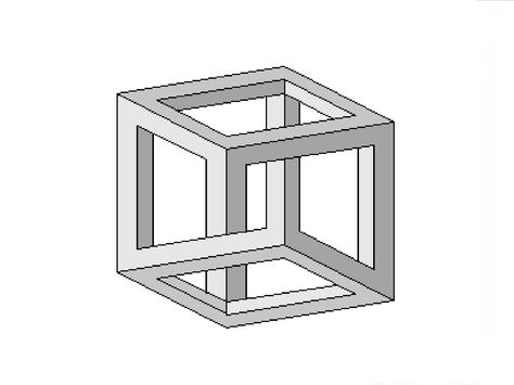 Square Optical Illusions How To Draw An Impossible Square