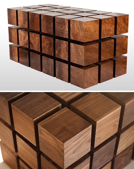wooden cubes furniture.  Furniture John Makepeace Furniture Designer And Maker U0027Flowu0027 Chest Detail  WOOOOD  Pinterest Flow Woods Woodwork Intended Wooden Cubes D