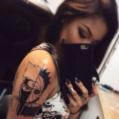 kakashi tattoo | Tumblr