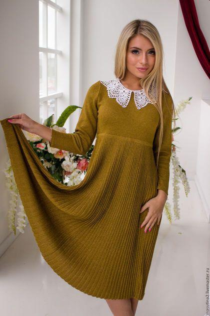 b1dd4eb37ad Купить или заказать Платье  Вивьен  в интернет-магазине на Ярмарке Мастеров.  Вязаное
