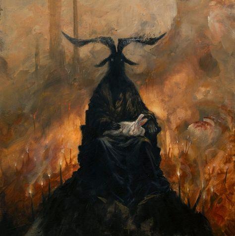 Paintings by Adam Burke - Urban Spellcraft Francisco Goya, Arte Horror, Horror Art, Les Fables, Satanic Art, Arte Obscura, Macabre Art, Occult Art, Demonology