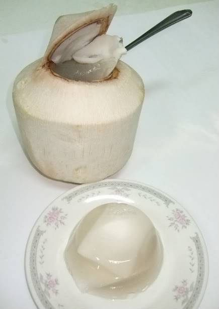 I Love This Coconut Jelly They Sell It Frozen But It S Cheaper To Make Your Own Very Refreshing If You Can Coconut Jelly Jelly Recipes Jelly Recipes Desserts