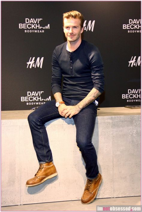 The king of style David Beckham inspires each one of us with his style and personality. For some of us, fashion starts and ends with what David Beckham wears. This article talks about the best outfits which David Beckham wore.