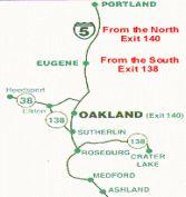 23 best Business in Historic Oakland Oregon 97462 images on