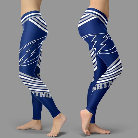 c995d9b669f Straight Cute Beautiful Attractive Tampa Bay Lightning Leggings – Best  Funny Store