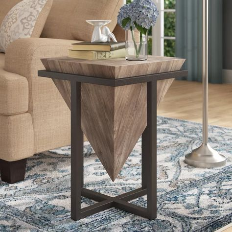 Williston Forge Deveraux End Table In 2020 End Tables Table
