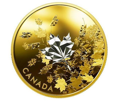 1 Oz Silver Coin 5$ Canada 2019 with number COA OWL  Maple leaf