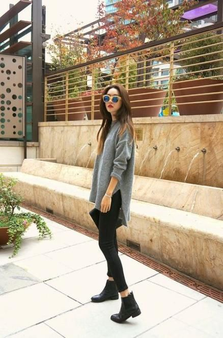 How To Wear Ankle Boots With Jeans Winter Fall Outfits 15 Super Ideas