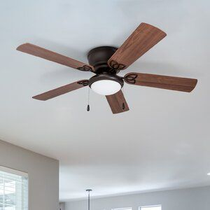 Andover Mills 52 Mattias 5 Blade Standard Ceiling Fan With Pull