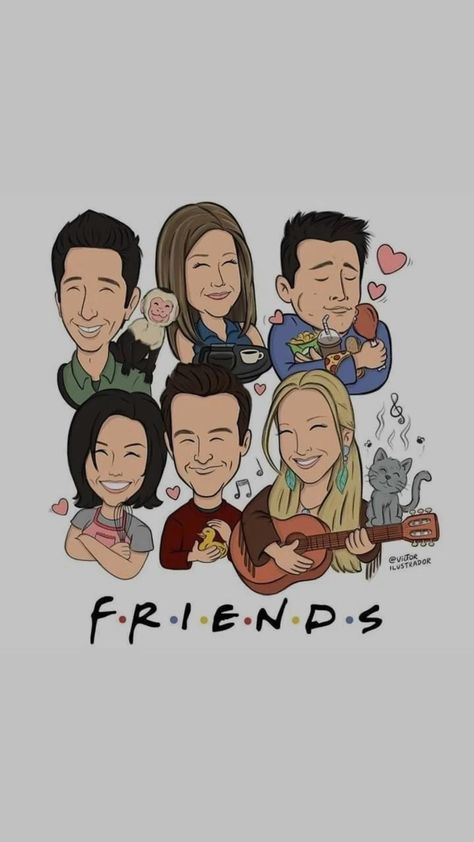 friends cover for lock screen etc.