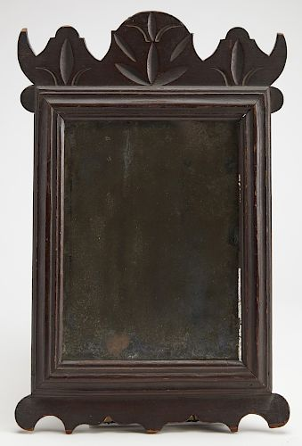 Very Fine Carved And Painted Queen Anne Mirror In 2020 Queen