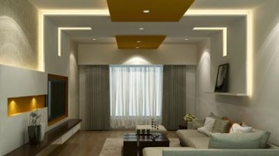 Modern Living Room Indirect Lighting Ideas For False Ceiling And Wall Rectangular Living Rooms Indian Living Rooms False Ceiling Living Room