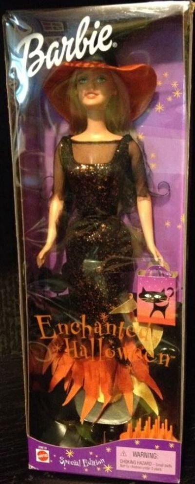 2001 Enchanted Halloween Barbie NRFB