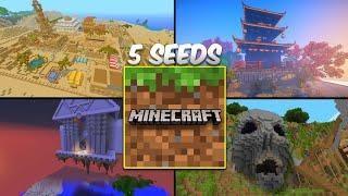 Top 5 Seeds Secretas Da Nova Versao Do Minecraft Pe Pocket